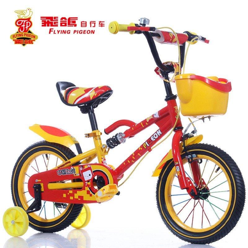 飞鸽儿童自行车的安装步骤图