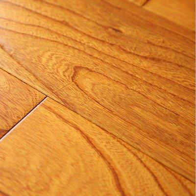 实木复合木地板15mm地热榆木浮雕复古地板