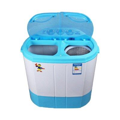 中山小鸭迷你双桶洗衣机 双缸双筒小型迷你洗衣机带甩干脱水