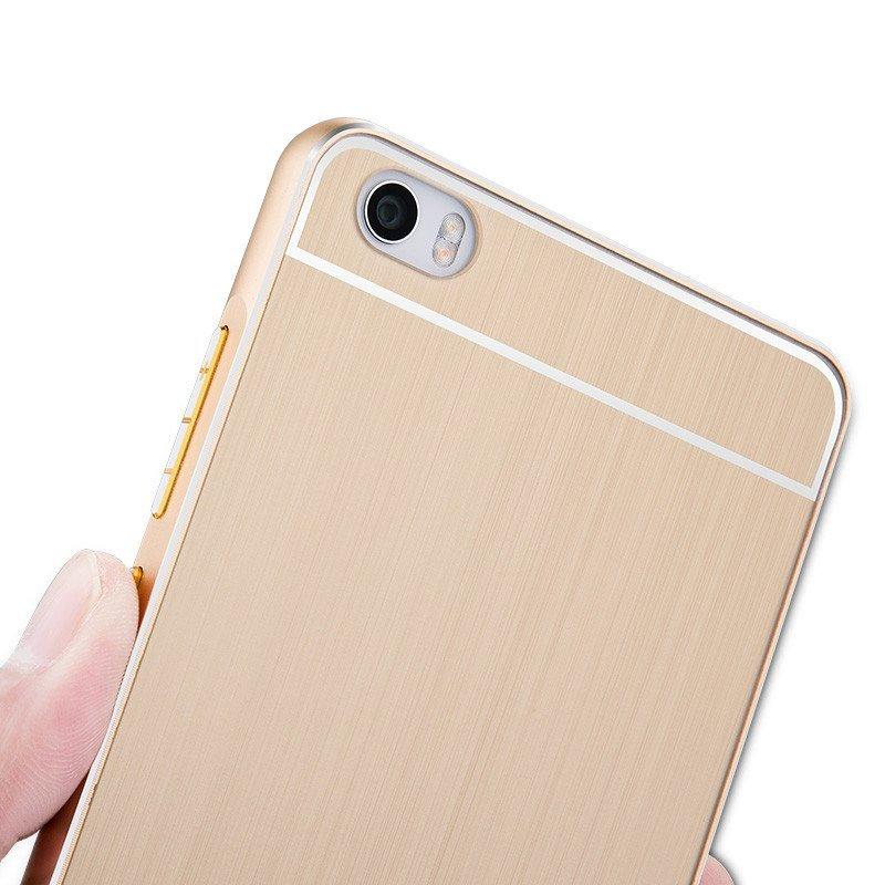 小米note手机壳 小米note手机套 金属边框式保护壳 硬5.