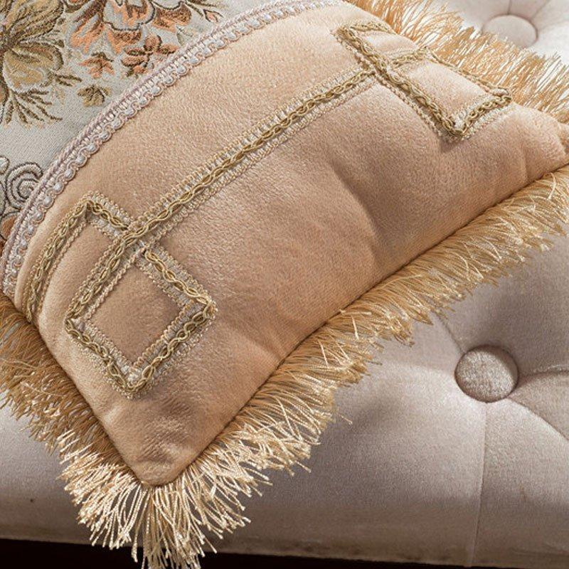 欧式刺绣抱枕图案