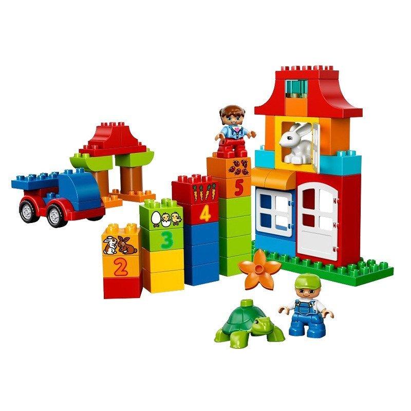 lego乐高儿童益智拼装积木拼插玩具得宝经典创意系列