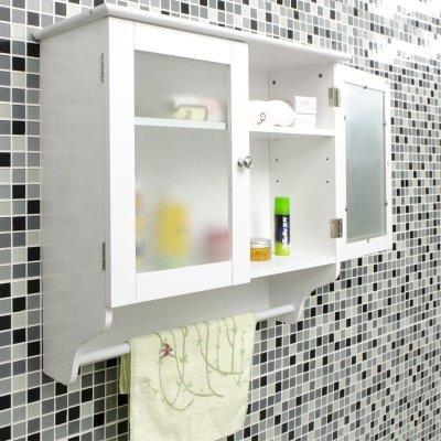 法米尼浴室阳台挂柜卫生间吊柜壁柜幼儿园挂毛巾收纳柜置物储物柜