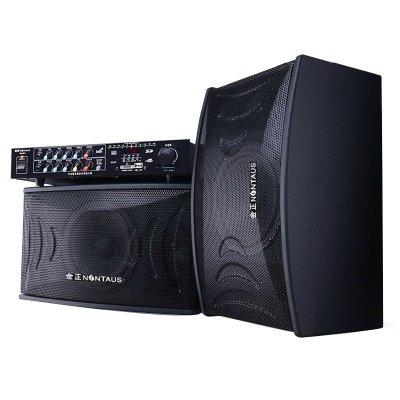 金正卡拉ok套装音箱 8寸ktv音响家用k歌卡包音箱功放