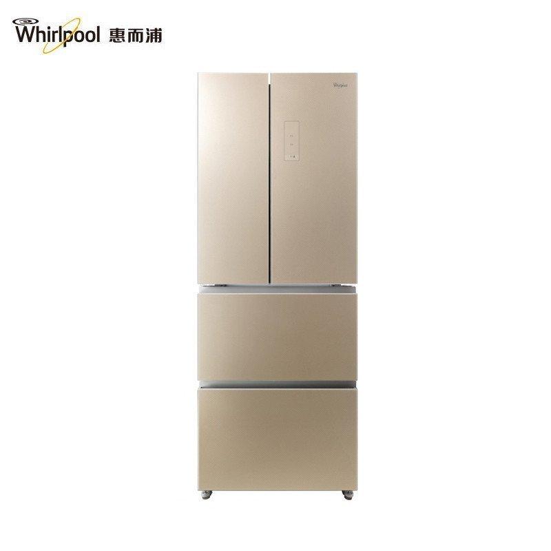 惠而浦(Whirlpool)BCD-403WMGW 403升风冷多门冰箱(鲁克斯金)