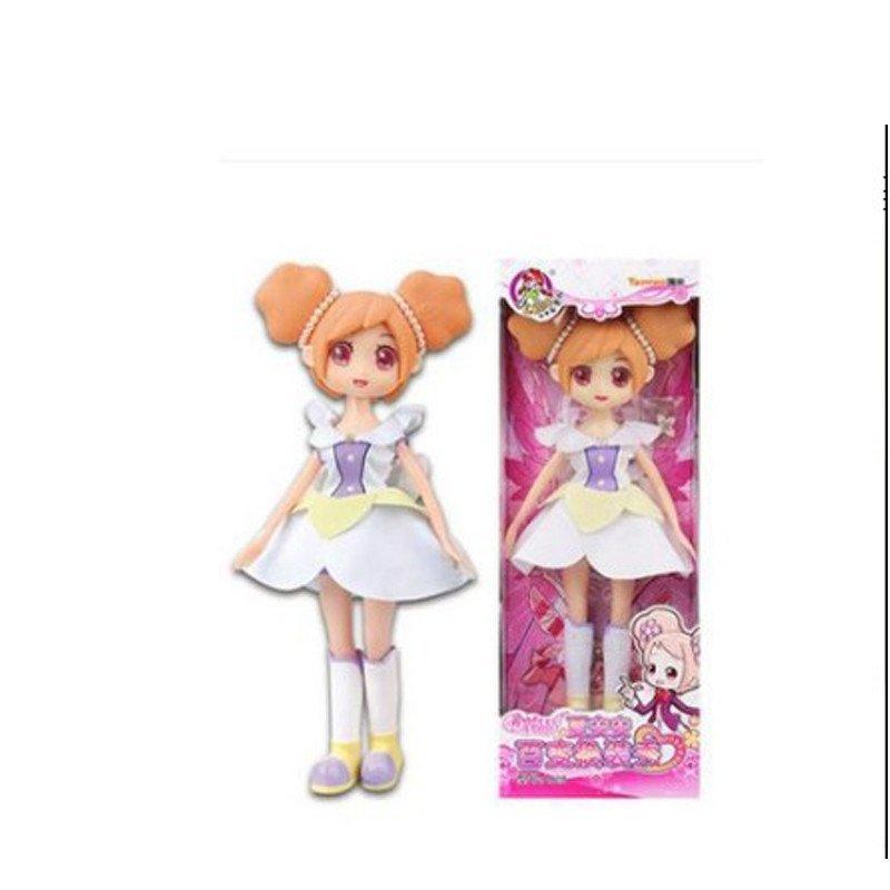 乐吉儿小花仙夏安安芭比娃娃大套装礼盒巴拉拉小魔仙女孩玩具a028a