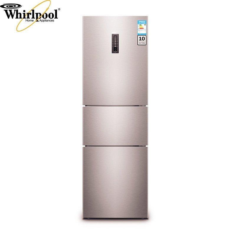 惠而浦(Whirlpool)BCD-251WTEZW 251升风冷三门冰箱(玫瑰金)