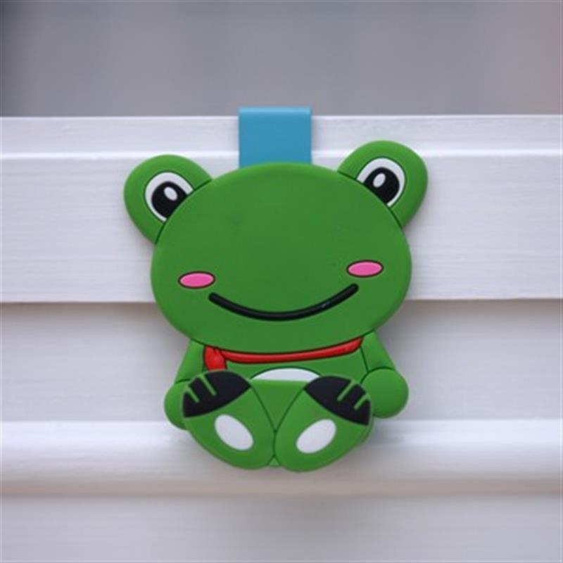 惠客 可爱卡通硅胶小动物门后挂钩 红色阿狸高清实拍图