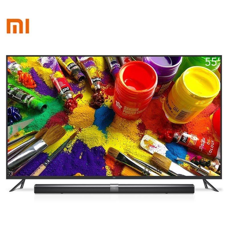 小米电视3 L55M4-AA 55英寸智能4K分体电视(单机版 不含低音炮)