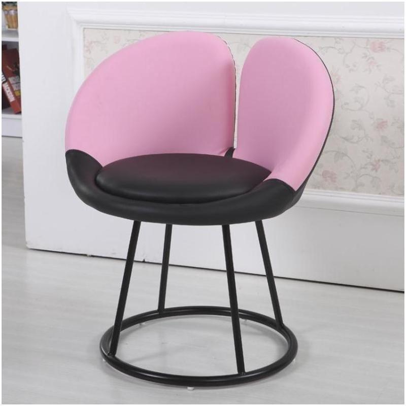 赛森 升降电脑椅子家用布艺时尚办公椅梅花椅凳子简约可爱懒人沙发