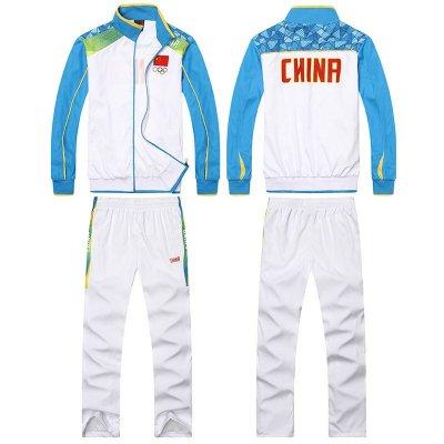 春秋中国队运动服套装 男女 奥运会出场服装 学生校服图片