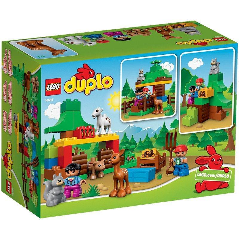 lego/乐高 得宝大颗粒 10582 森林小动物 10582