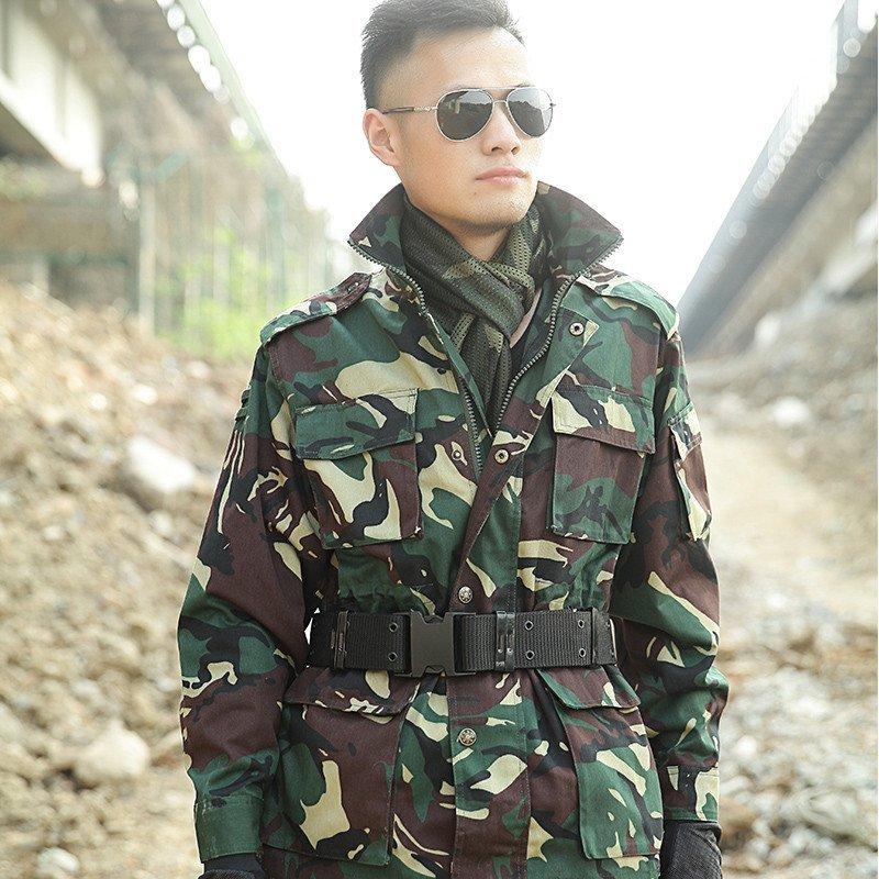欧格拧2016新款我是特种兵猎人迷彩服作训服军迷服饰套装 户外加厚加