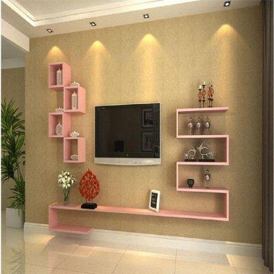 客厅电视柜隔板背景墙造型创意装饰柜