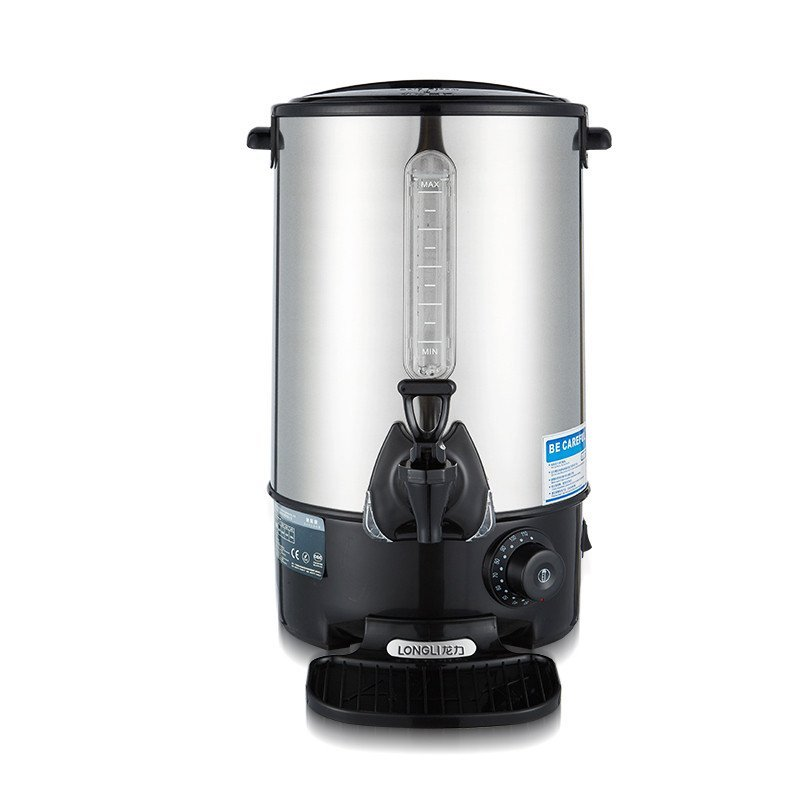 龙力开水桶电开水器烧水桶不锈钢商用电热水桶双层桶