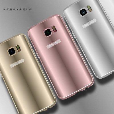 眉���9/g9�*_anmb 三星s7 edge手机壳金属边框后盖g9350保护套s7曲面屏防摔炫彩