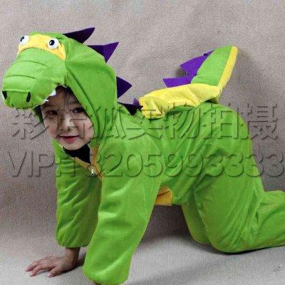 动物衣服游戏服六一儿童动物演出服装幼儿园舞台表演服饰 男女童卡通