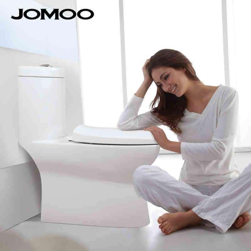 jomoo九牧洁具陶瓷抽水马桶