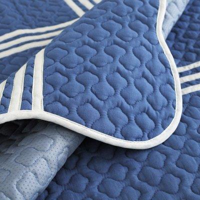 坐垫四季地中海组合皮沙发巾罩套定做