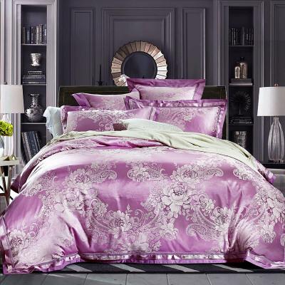 庆床上用品欧式床单4件套