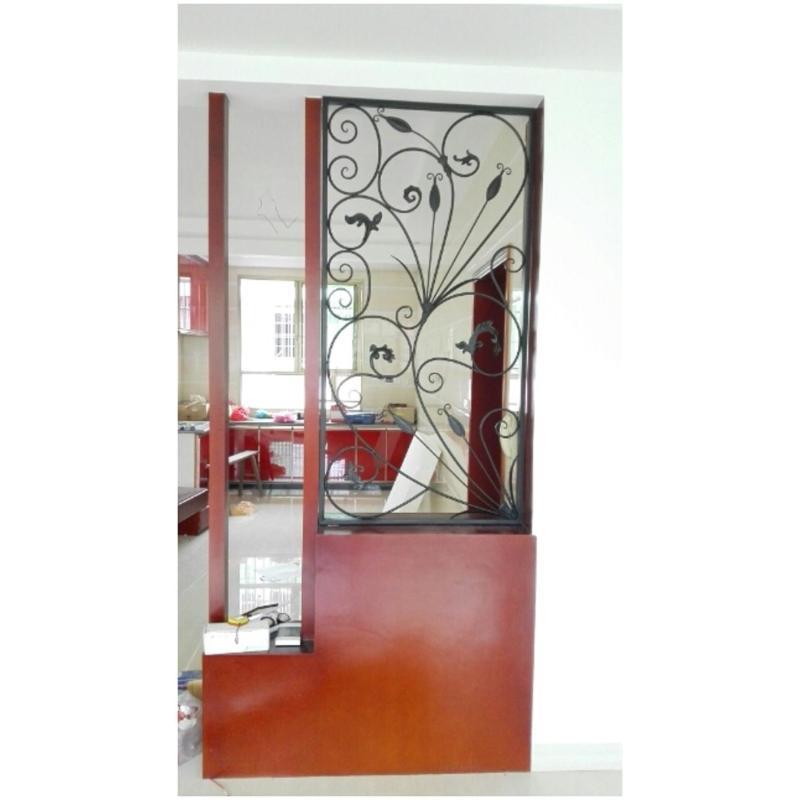唐傲 鞋柜铁艺玄关隔断屏风烤漆 卫生间创意玄关花窗花格 可以定做