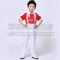 专题女童小学生大合唱服幼儿园表演服生日花上海中小学男童教育图片