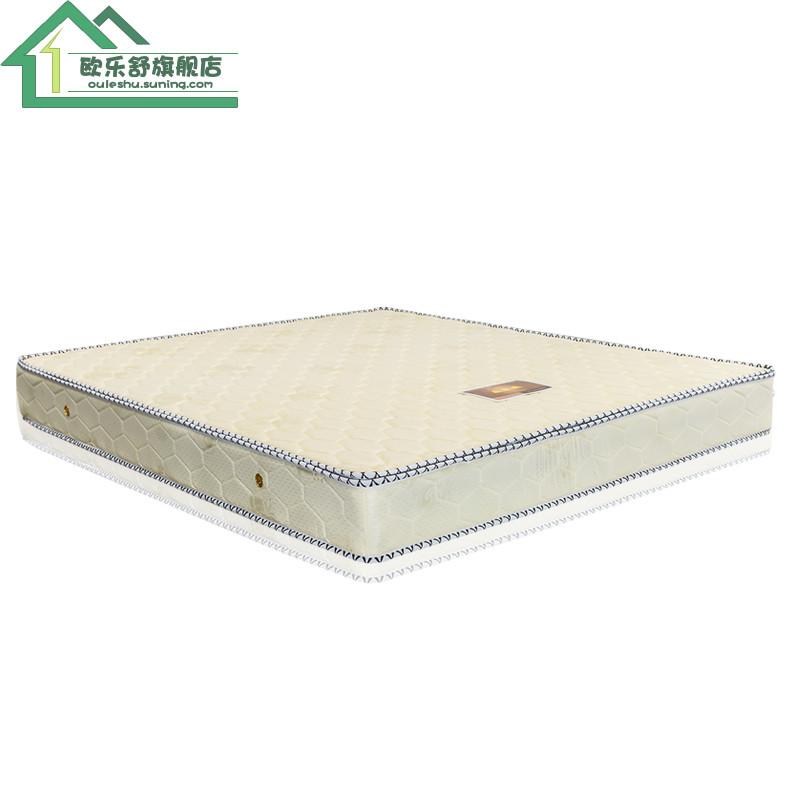 欧乐舒 lx805 席梦思床垫 弹簧床垫 3e椰梦维床垫 半棕半簧 双人1.