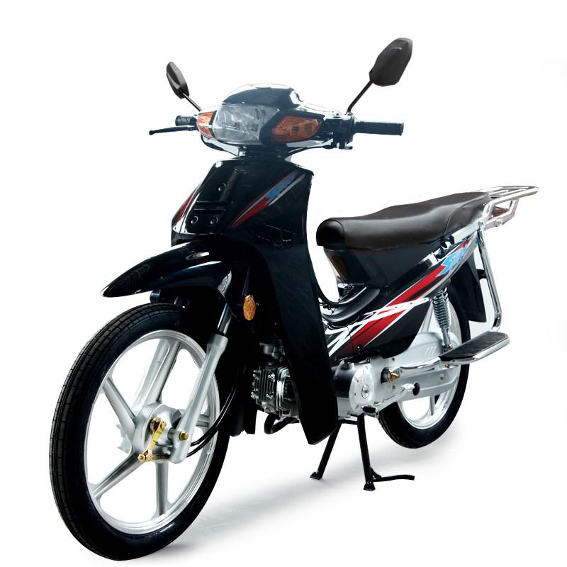 泰本田弯梁摩托车110 男女通用山地燃油助力踏板骑式车可上牌整车