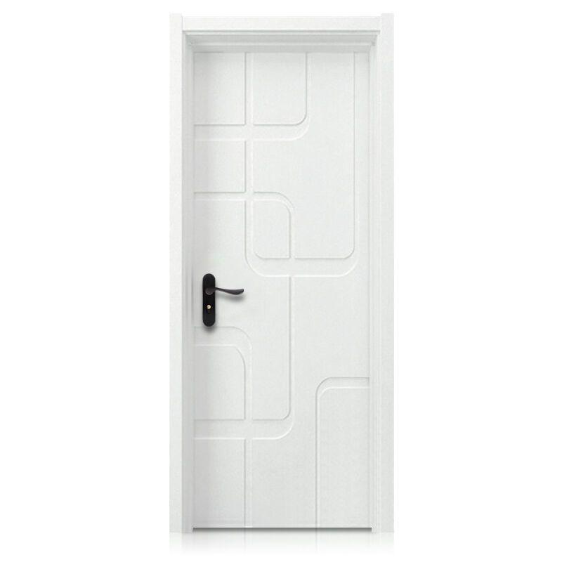 塞纳春天木门造型门室内门套装门烤漆房门卧室门个性时尚款型号230 实