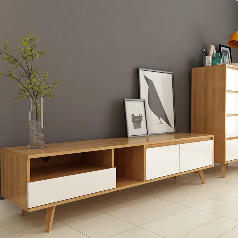 现代简约电视柜北欧小户型电视柜 客厅家具 电视机柜创意l291 a款单个