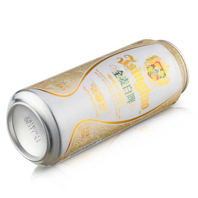 【久酒】 青岛(tsingtao)11度白啤 奥古特12度啤酒 组合装500ml*24