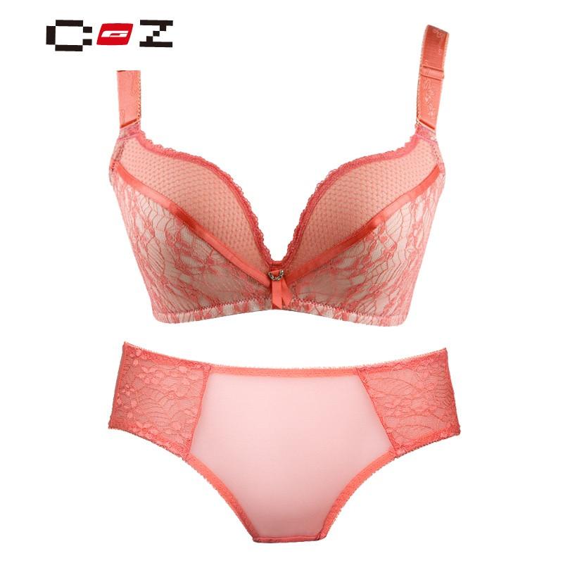 CZ潮流品牌内衣性感无钢圈无痕聚拢调整型收
