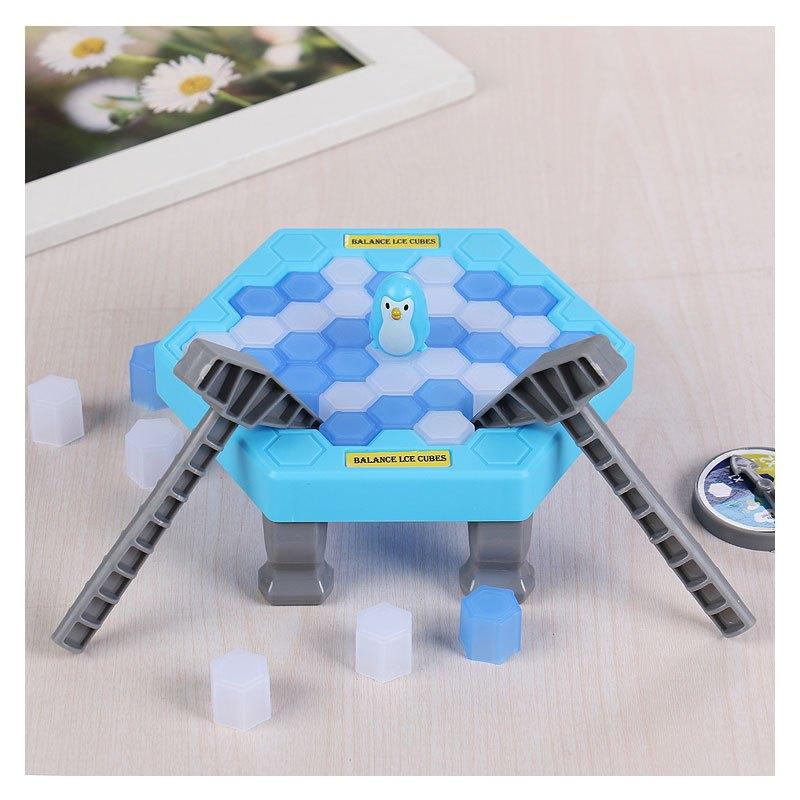 敲打玩具游戏冰块地址企鹅积木拆墙破冰互动台儿童拯救益智玩具当季2017年捐亲子桌面图片