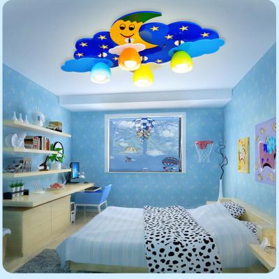 女生蓝色房间装修图片