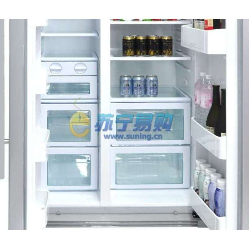 海尔冰箱bcd-602w(太空银pem)【报价
