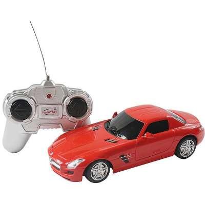 星辉遥控车模1 24奔驰sls 红高清图片