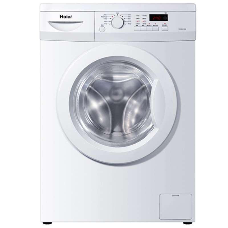 Haier 海尔 简约系列 滚筒洗衣机 XQG60-1000 (6KG、1级能效)