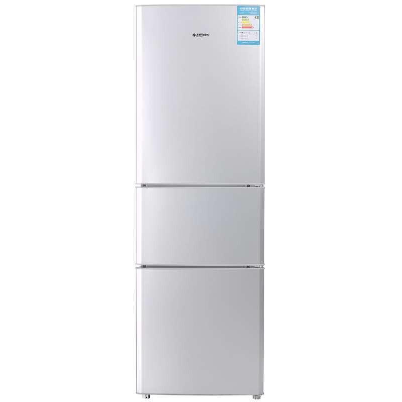 再特价:美菱 BCD-206L3C 三开门冰箱(206L、1级能效)
