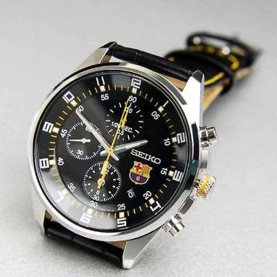 巴萨合作款:SEIKO 精工 Chronograph系列 SNDD25J1 男款 腕表