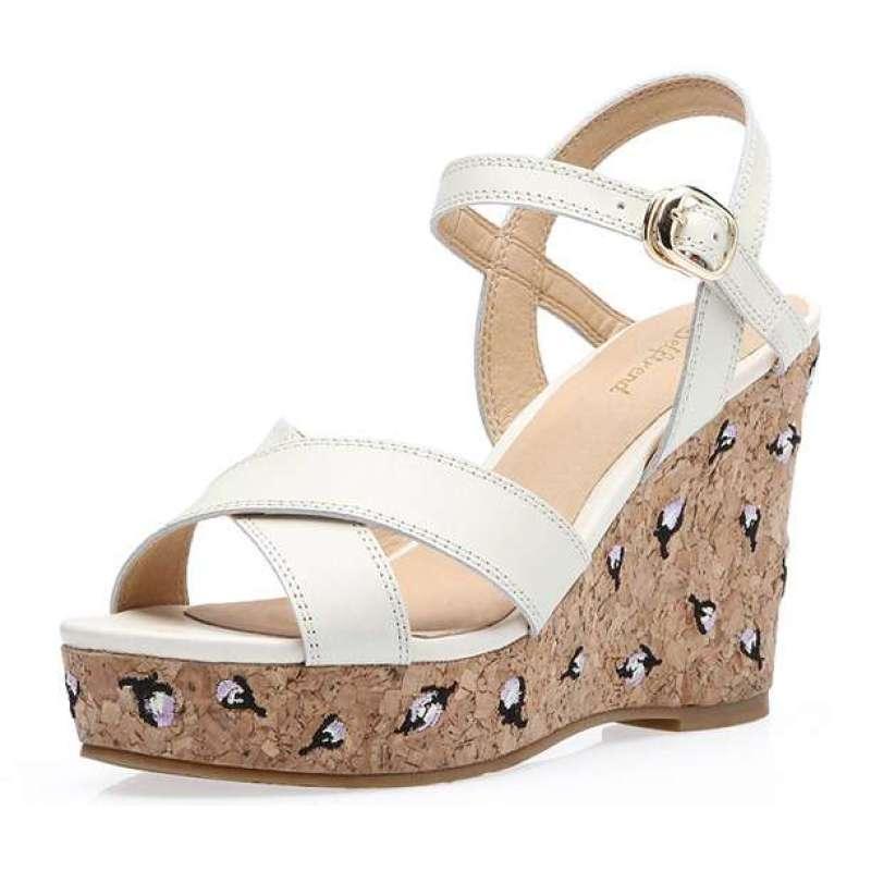 女凉鞋白色w2200
