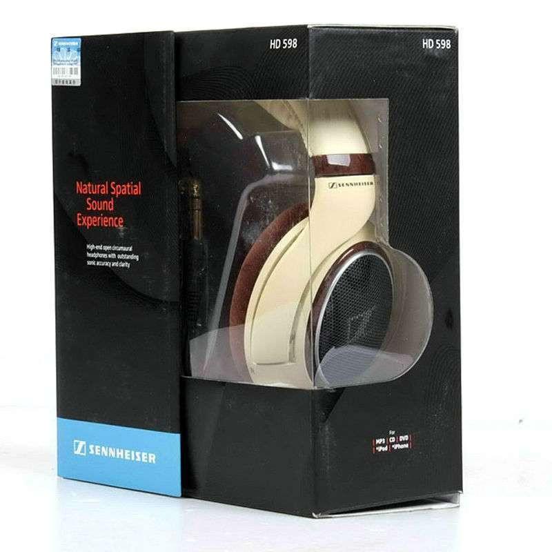 森海塞尔耳机hd 598