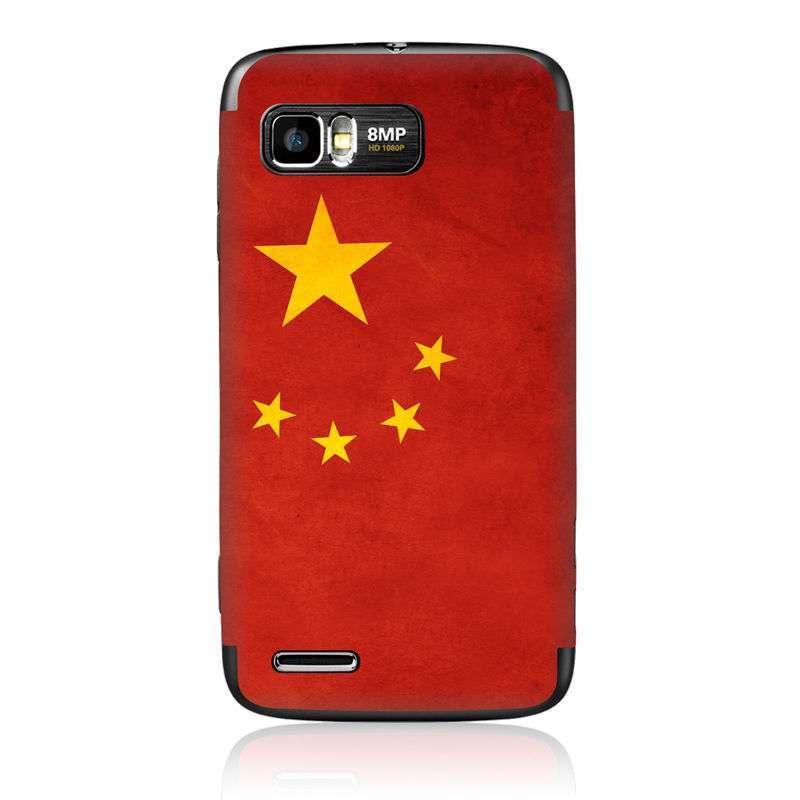 产品名称:ideaskin摩托me865保护膜中国国旗  覆盖机身正背面,抗划伤