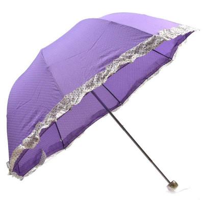 宝丽姿 12316E 拱形公主伞紫色 25元包邮(紫色)