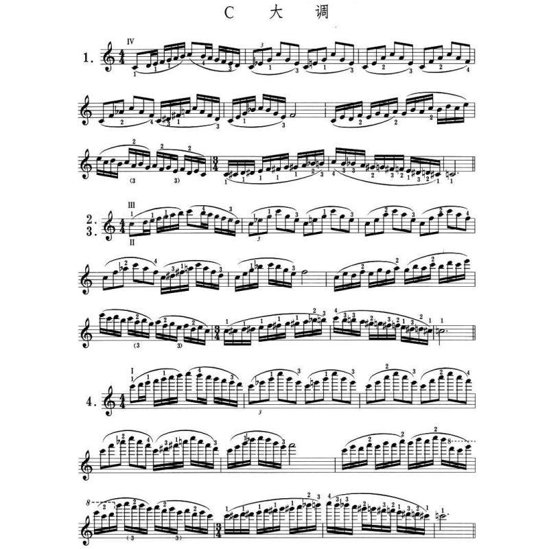 卡尔·弗莱什小提琴音阶体系