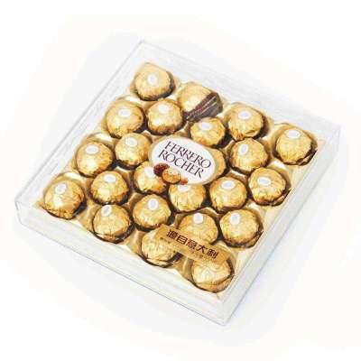 费列罗(FERRERO) 金莎巧克力制品24粒装 300g