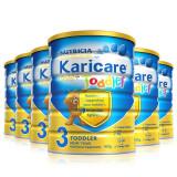 karicare 可瑞康 金装幼儿配方奶粉 3段 900g*6 (新西兰原装进口)