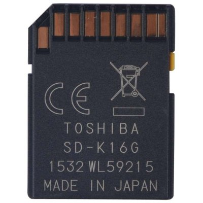 再特价 东芝 TOSHIBA 16GB CLASS 10 SDHC UHS-1 高速存储卡  57元包邮