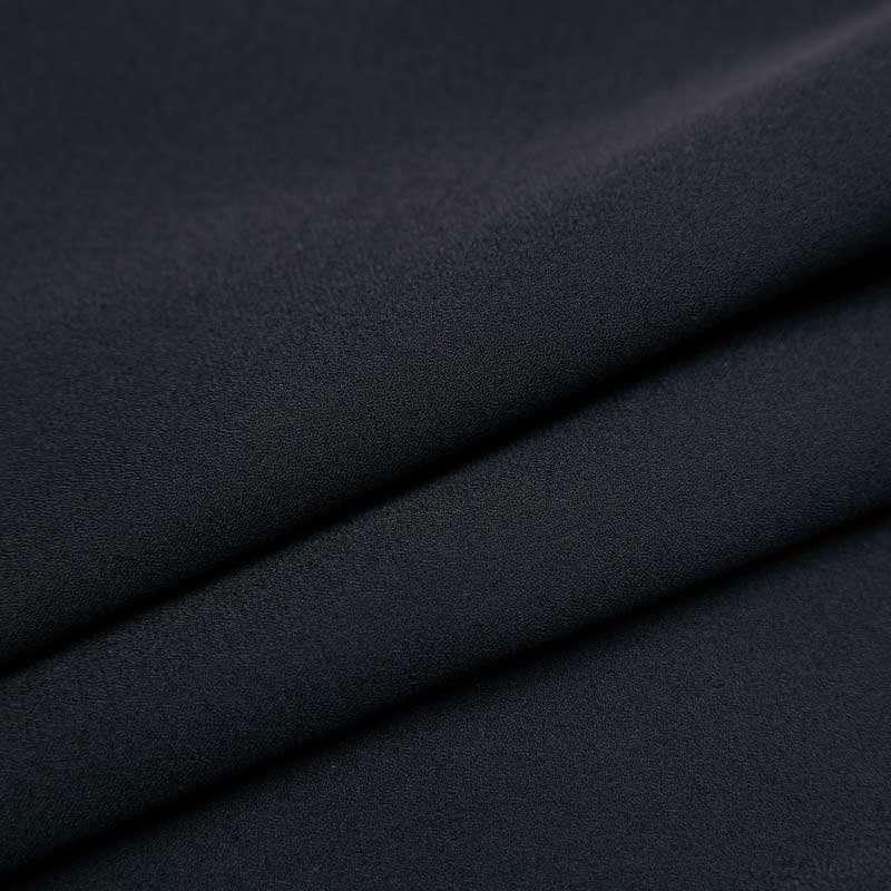 秋水伊人 女装经典黑白拼接可爱娃娃领松紧腰连衣裙子