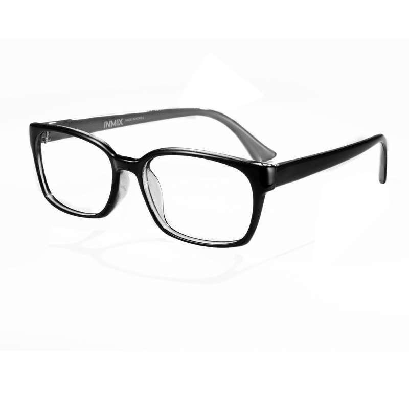 inmix音米复古黑框眼镜框