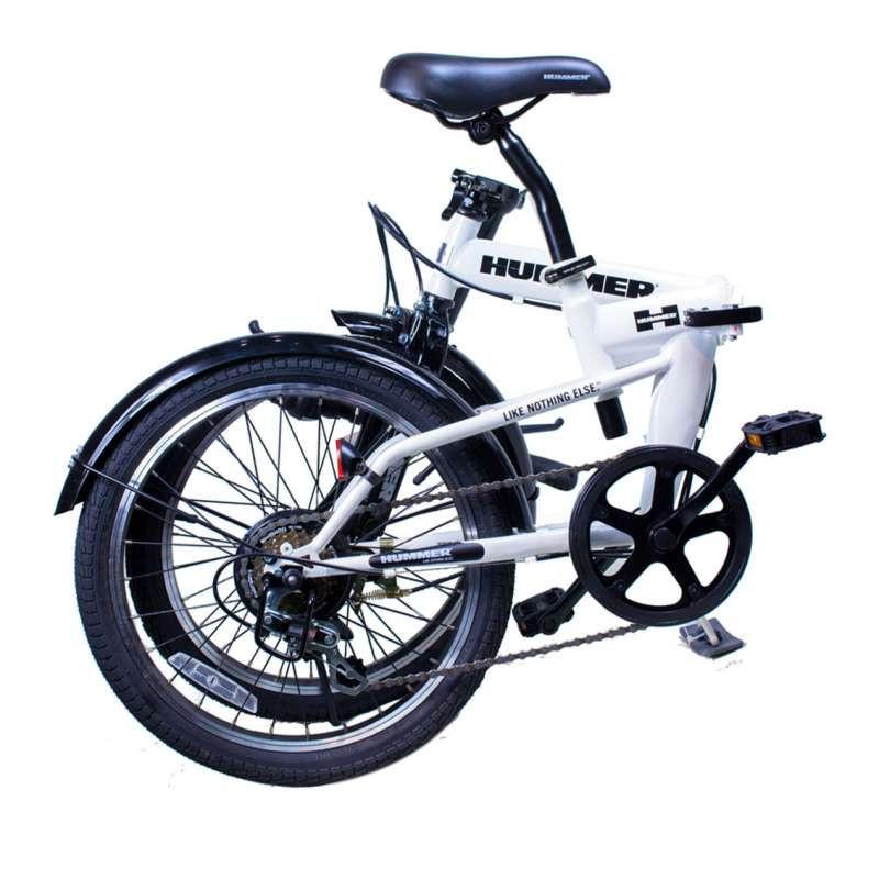 悍马自行车折叠步骤图